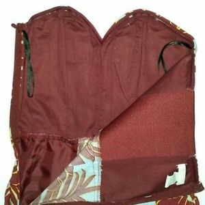 h&m conscious Pants - NEW H&M Conscious Floral Jumpsuit strapless SZ 10